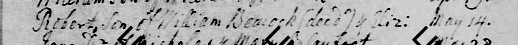 2General Register Winteringham - Baptism of Robert Beacock 1738.png
