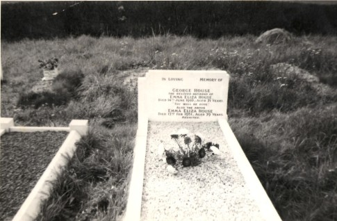 Grave of Emma and George