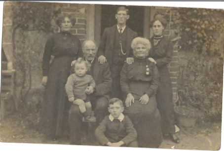 Grt Aunt Nelly. Grt Uncle Mark. Grt Aunt Lily. Grt Grandad George House. Grt Granny Lily House. Raphael. my daddy George Henry House