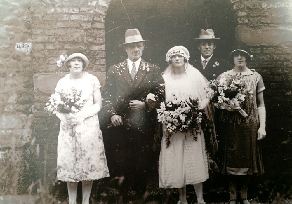 Wedding of Charles Wright and Nancy Cousens
