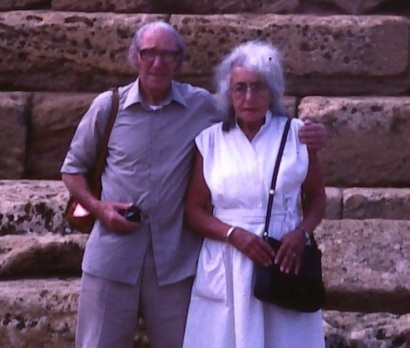 Helen's parents in Sicily