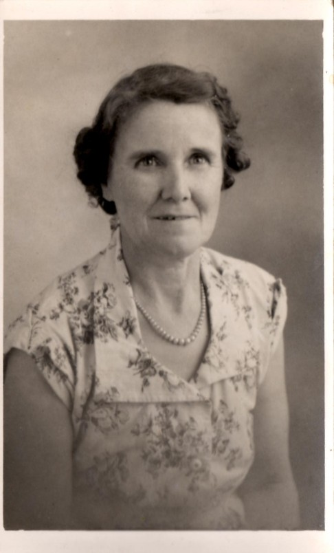 Alice Baxter (Capon) - 14 March 1953