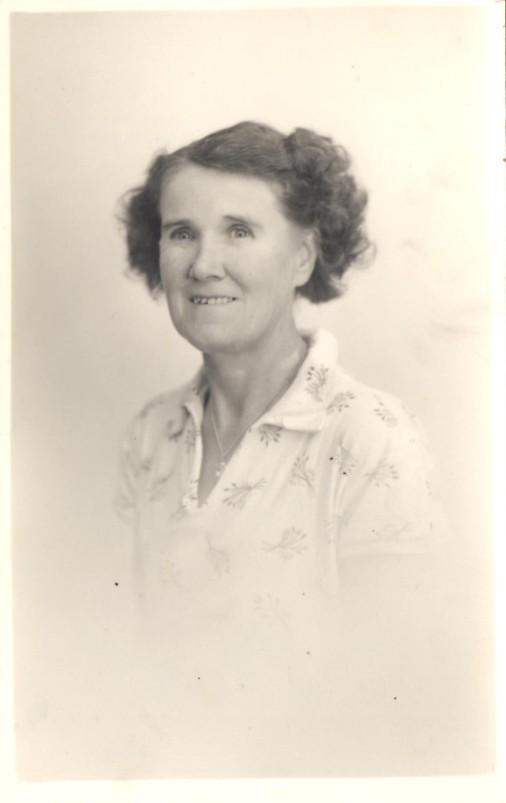 Alice Baxter (nee Capon) - 9 December 1955